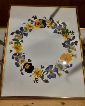 cadre GM fleurs séchées